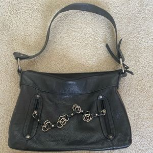 Kenneth Cole Reaction Chain Leather Purse